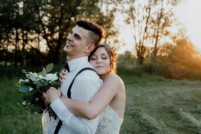 Weronika & Tomasz Rustykalne wesele w Hacjendzie Dolina Żab